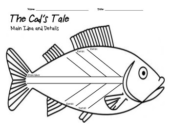 INSPIRED BY THE SEA: A Cod's Tale Main Ideas and Details