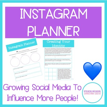 INSTAGRAM PLANNER - GROW YOUR INSTAGRAM FOR YOUR BUSINESS