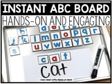 INSTANT ABC Board | A FREE DOWNLOAD |
