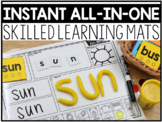 INSTANT All-in-One Skilled Learning Mats [ELA AND MATH]