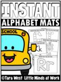 INSTANT Alphabet Fine Motor Mats