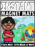 INSTANT Alphabet Magnet Mats