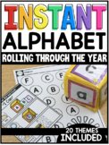 INSTANT Alphabet Rolling Through the Year