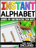INSTANT Alphabet Task Mats