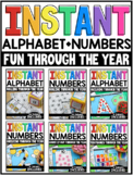 INSTANT Alphabet and Numbers Fun Through the Year