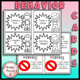 Non Verbal Differentiated Behavior Cards - Classroom Management (Printables)