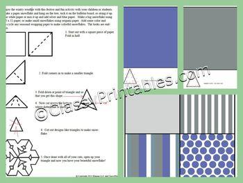 INSTANT DOWNLOAD 43 pages Teacher's Winter Theme Classroom Decor
