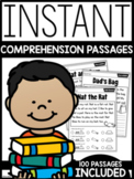 INSTANT Differentiated Reading Comprehension Passages | GOOGLE™ SLIDES READY |
