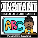 INSTANT Digital Alphabet Fluency Mingle | DISTANCE LEARNING |