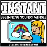 INSTANT Digital Beginning Sounds Mingle