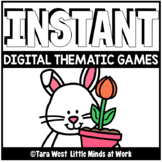 INSTANT Digital Games: BUNNY THEMATIC PRE-LOADED TO SEESAW