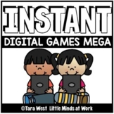 INSTANT Digital Games SEESAW & GOOGLE SLIDES GROWING BUNDL