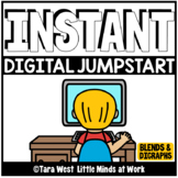 INSTANT Digital Jumpstart Games: Blends and Digraphs SEESA