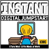 INSTANT Digital Jumpstart Games: CVC PRE-LOADED TO SEESAW & GOOGLE SLIDES™