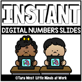 INSTANT Digital Numbers 0-20 Slide Decks PRE-LOADED TO SEESAW & GOOGLE SLIDES™