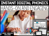 INSTANT Digital + Print Phonics Files   DISTANCE LEARNING