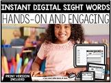 INSTANT Digital + Print Sight Word Files   DISTANCE LEARNI