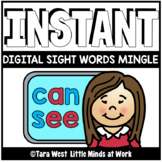 INSTANT Digital Sight Words Mingle | DISTANCE LEARNING |