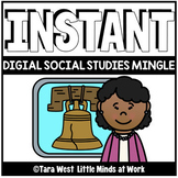 INSTANT Digital Social Studies Mingle Slides | DISTANCE LE