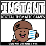 INSTANT Digital THEMATIC ACORNS Games PRE-LOADED TO SEESAW