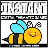 INSTANT Digital Thematic Mini Games: BEES LOADED TO SEESAW