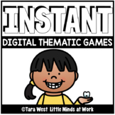 INSTANT Digital Thematic Mini Games: DENTAL LOADED TO SEES