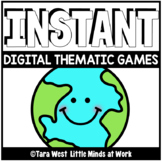 INSTANT Digital Thematic Mini Games: EARTH DAY LOADED TO S