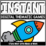 INSTANT Digital Thematic Mini Games: SPACE LOADED TO SEESA