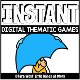 INSTANT Digital Thematic Mini Games: WEATHER LOADED TO SEE