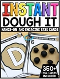 INSTANT Dough Exploration Hands-On Task Cards