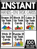 INSTANT Hands-On Task Cards