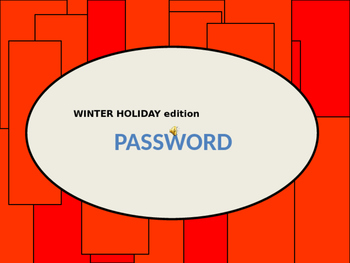 NO-PREP CHRISTMAS WINTER HOLIDAY PARTY GAME (A Synonym Game)