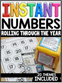 INSTANT Numbers Rolling Through the Year