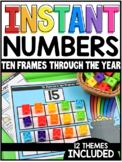 INSTANT Numbers Ten Frames Through the Year