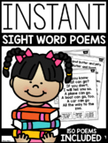 INSTANT Sight Word Poems | GOOGLE™ SLIDES READY |