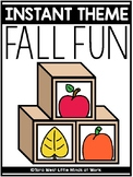 INSTANT Theme: All Fall Fun
