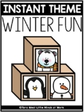 INSTANT Theme: Winter Fun * * 50% OFF THE FIRST 24 HOURS * *