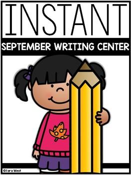 INSTANT Writing Center: SEPTEMBER THEMES