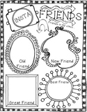 INSTAfriends {Back to School Printables} Beginning & End of the Year