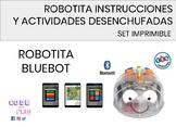 INSTRUCCIONES DE ROBOTITA-BLUEBOT- JUEGOS, DESAFÍOS Y ACTIVIDADES DESENCHUFADAS