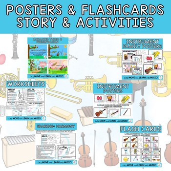 Instrument Families: Orchestra and Classroom Mp3's,Story ...