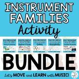 Instrument Families Bundle: Lesson, Posters, Mp3's, Story,
