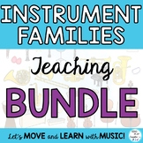 Instrument Families: Orchestra and Classroom Plus Workshee