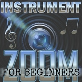 INSTRUMENT ZOOM - BEGINNER Version - Orchestra Game - Elem