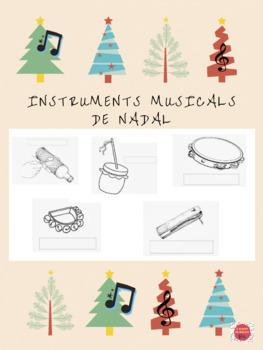 INSTRUMENTS MUSICALS DE NADAL/INSTRUMENTOS MUSICALES DE NAVIDAD (en valencià)