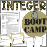 INTEGER Operations Activities and Lessons for Fluency