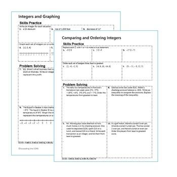 integers coordinate plane homework worksheets skills. Black Bedroom Furniture Sets. Home Design Ideas