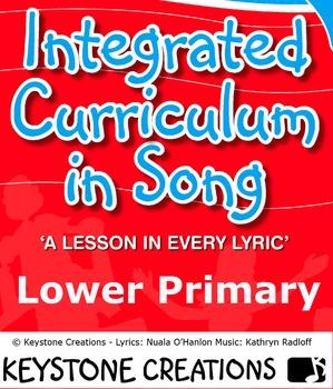 12 curriculum-aligned MP3 songs & book pdf of lesson materials