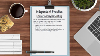 INTEGRITY Activities: 5 Writing Prompts