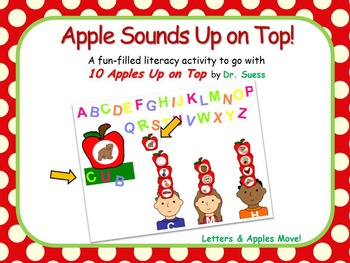 WHITEBOARD 10 Apples Up on Top - Beginning Sounds and CVC Words